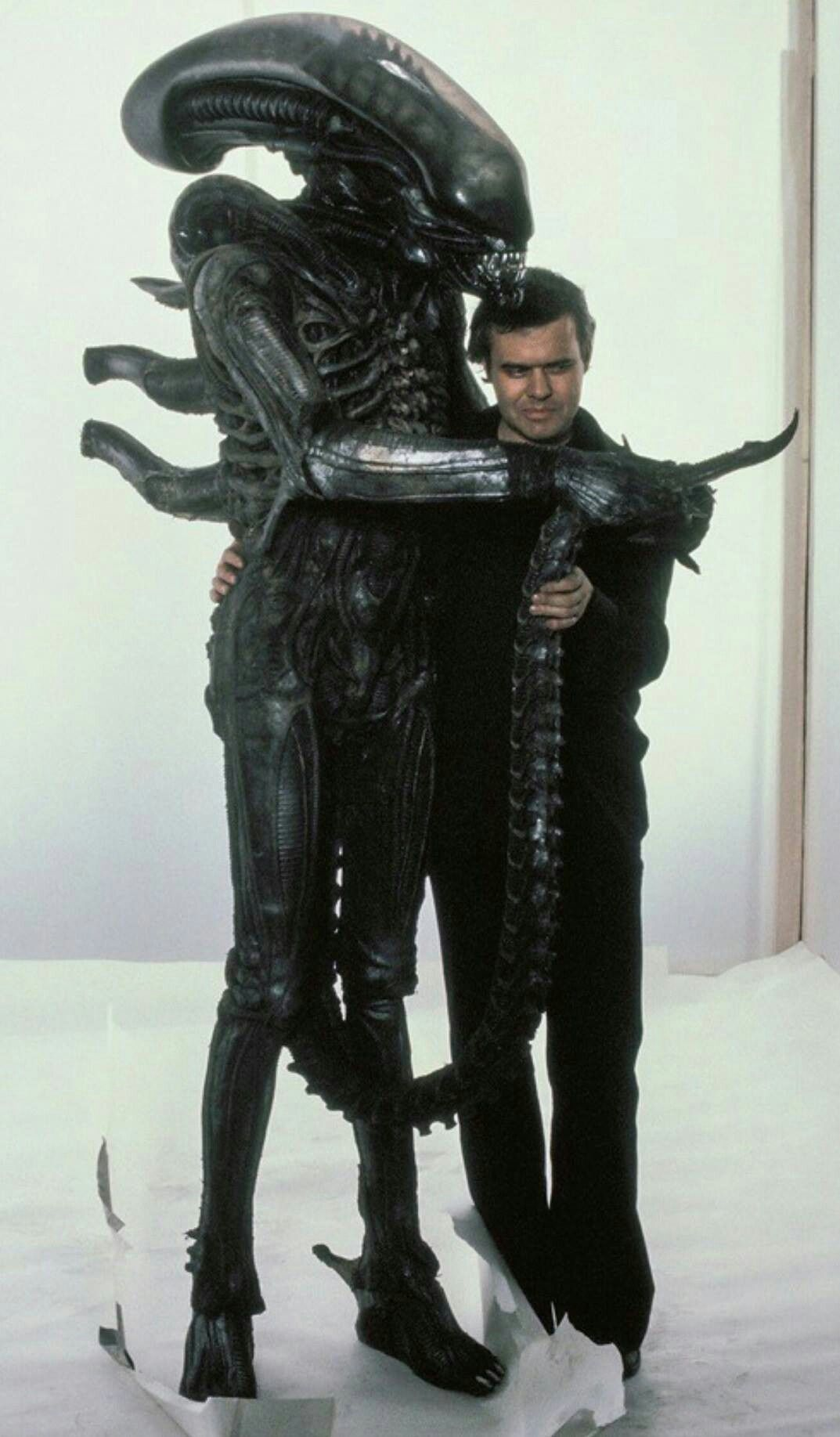 Alien Bolaji Badejo and Giger