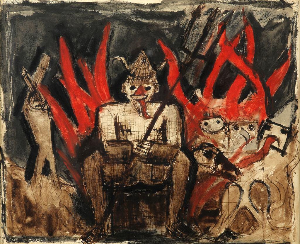 Tadeusza-Makowskiego--z23277623IH,Wystawa-malarstwa-Muzeum-Okr